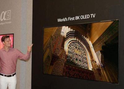 رونمایی از نخستین تلویزیون اولد 8K در دنیا