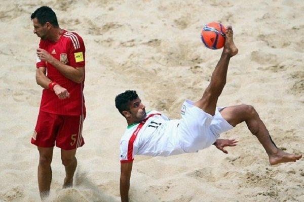 تیم ملی فوتبال ساحلی ایران اول آسیا و سوم دنیا