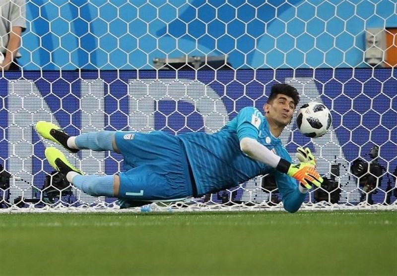 علیرضا بیرانوند، نامزد کسب بهترین بازیکن سال 2018 فوتبال آسیا شد